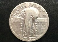 1926-S STANDING LIBERTY QUARTER SILVER U. S. COIN A2934