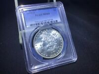 1898O MORGAN SILVER DOLLAR PCGS MINT STATE 64. BLAST WHITE