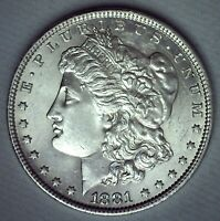 1881 O MORGAN SILVER DOLLAR COIN UNCIRCULATED ONE DOLLAR $1 US NEW ORLEANS MINT