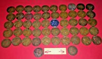 1941 TO 1958P-D WHEAT PENNIES ASSORTED  2 INDIAN HEAD CENTS