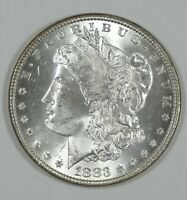 1883 MORGAN DOLLAR CHOICE BRILLIANT UNCIRCULATED SILVER $