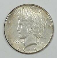 1926-S  PEACE DOLLAR ALMOST UNCIRCULATED SILVER $