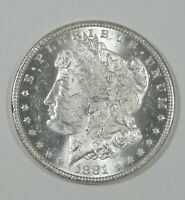1881-O MORGAN DOLLAR BRILLIANT UNCIRCULATED SILVER $