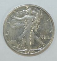 1934-S WALKING LIBERTY HALF DOLLAR EXTRA FINE/ALMOST UNCIRCULATED SILVER 50C