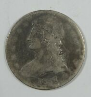 1837 CAPPED BUST/REEDED EDGE HALF DOLLAR  GOOD SILVER 50-CENTS