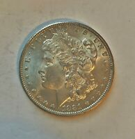 1881 O MORGAN SILVER DOLLAR FROM BU ROLL  ORIGINAL LUSTER