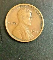 1919-P LINCOLN WHEAT CENT 1339 SHIPS FREE