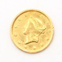 1851 O UNITED STATES GOLD $1 LIBERTY HEAD COIN   NEW ORLEANS  8444 5