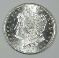 1887-S MORGAN DOLLAR BRILLIANT UNCIRCULATED SILVER DOLLAR