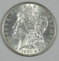 1891 MORGAN DOLLAR  BRILLIANT UNCIRCULATED SILVER DOLLAR