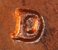 1962 D LINCOLN MEMORIAL CENT   BU   REPUNCHED MINT MARK   RPM 004 / 1MM 004