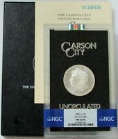 1881 CC CARSON CITY GSA NGC MINT STATE 62 PROOF LIKE MORGAN SILVER DOLLAR