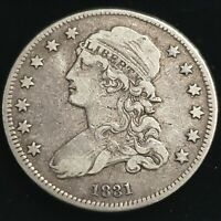 1831 US LIBERTY CAPPED BUST SILVER QUARTER DOLLAR 25C EARLY