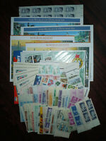US USA MINT POSTAGE IN SHEETS STRIPS BLOCKS & BOOKLETS $50