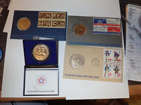 1973 1974 1975 & REVOLUTION BICENTENNIAL FIRST DAY COVER AND