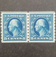 US SC 396 NEVER HINGED PAIR W/ GRADED PSE CERT GRADE XF 90 S