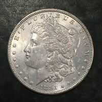 1891 MORGAN SILVER DOLLAR - HIGH QUALITY SCANS I474