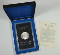 1885-CC MORGAN DOLLAR BRILLIANT UNC SILVER DOLLAR BOXED GSA CARSON CITY $