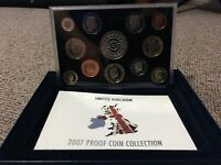 ROYAL MINT PROOF COIN COLLECTION SET 2007