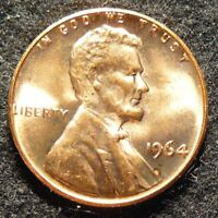 1964 P LINCOLN MEMORIAL CENT   BU   DOULBED DIE REVERSE   FS 802