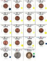 LOT OF 19 VARIOUS USA COINS PROOF / PROOF LIKE  LOT 2