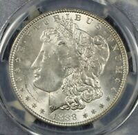 1888 MORGAN SILVER DOLLAR PCGS MINT STATE 63 UNCIRCULATED COLLECTOR COIN