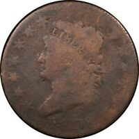 1808 1C CLASSIC HEAD LARGE CENT RARE OLD TYPE COIN MONEY