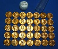 1959 P LINCOLN MEMORIAL CENT   ALL ARE DDR 006   UNC/ RED/ BLEMISHES   35 COINS