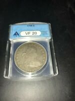 1799  DRAPED  BUST  DOLLAR  ANACS  VF20 OLD HOLDER PRICED TO SELL SHIPS FREE