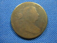 1798 DRAPED BUST COPPER LARGE CENT COIN