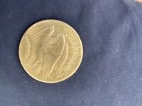 20$ GOLD ST GAUDENS FOUBLE EAGLE COIN