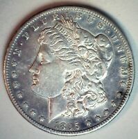 1895 S MORGAN SILVER DOLLAR $1 US COIN EXTRA FINE CIRCULATED SAN FRANCISCO MINT