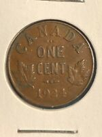 1924 CANADA PENNY 1 CENT KEY DATE