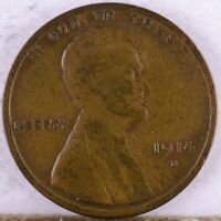 1914 D LINCOLN CENT VG LIGHTLY CLEANED DINGS