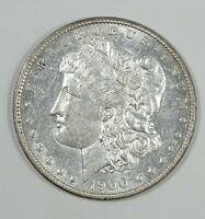 1900 MORGAN DOLLAR AU ALMOST UNCIRCULATED SILVER $