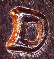 1961 D LINCOLN MEMORIAL CENT   BU   REPUNCHED MINT MARK   1MM 040 / RPM 040
