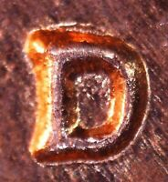 1961 D LINCOLN MEMORIAL CENT   BU   REPUNCHED MINT MARK   1MM 062 / RPM 062
