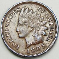 1905 1C INDIAN CENT IHC INDIAN HEAD PENNY COPPER 14650