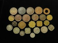 INDIA COLLECTION OF 24X COINS 19TH 20THC MOSTLY BRITISH RAJ