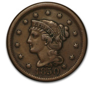 1808 1857 LARGE CENT   CIRCULATED