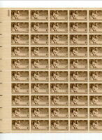 GROUP OF 10 MINT US SHEETS 3 CENT VALUES