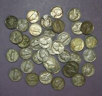 40 JEFFERSON WAR NICKELS   MIXED YEARS MINTS AND CONDITION