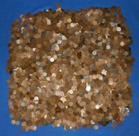5000  LINCOLN WHEAT CENTS   1909 1958 CULL BAG   35 POUNDS