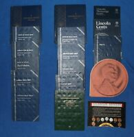 15 LINCOLN CENT ALBUMS   WHEAT 1909  1941  AND MORE   10.75 POUNDS
