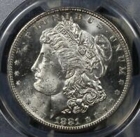 1881-S VAM 1A MORGAN SILVER DOLLAR COLLECTOR COIN  PCGS MINT STATE 64 SHIPS FREE