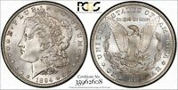 1894-S MORGAN DOLLAR PCGS MINT STATE 64 PQ LUSTER
