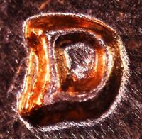 1961 D LINCOLN MEMORIAL CENT   BU   REPUNCHED MINT MARK    1MM 002 / RPM 002