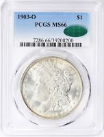 1903-O MORGAN DOLLAR PCGS MINT STATE 66 CAC PQ LUSTER