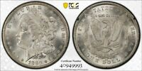 1880-CC $1 SILVER MORGAN DOLLAR IN GSA HOARD HOLDER PCGS MINT STATE 63