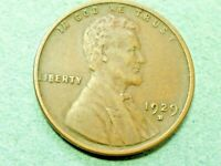 1929-D  LINCOLN  CENT  EXTRA FINE